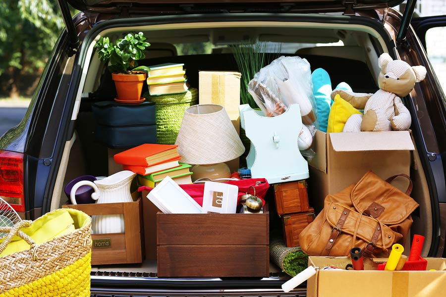 Moving out of marital home